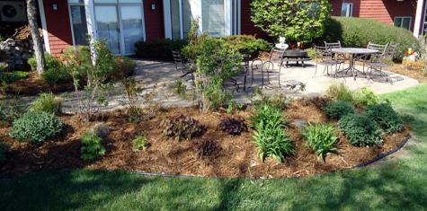 landscape cedar garden